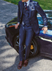Picture of Navy three-piece suit