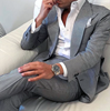 Picture of Grey slim fit two-piece suit