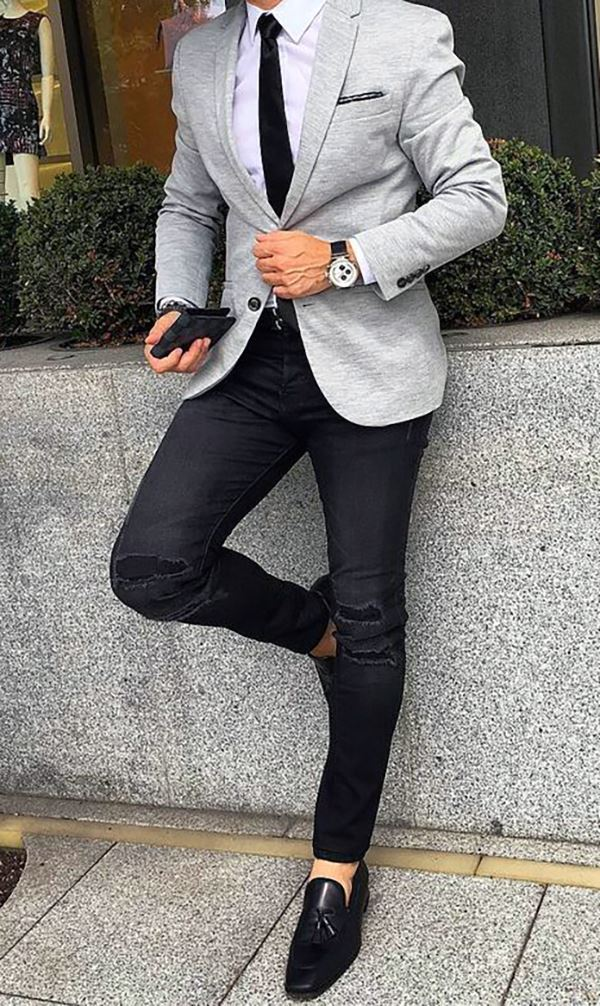 ever popular ever popular reliable quality THE DROP | Bespoke suits made for you. Grey jacket with ...