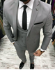Picture of Grey three-piece suit