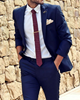 Picture of Blue two-piece suit