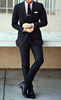 Picture of Black two-piece suit