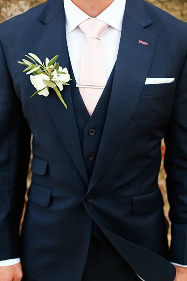 Picture of Dark Navy Three-piece suit