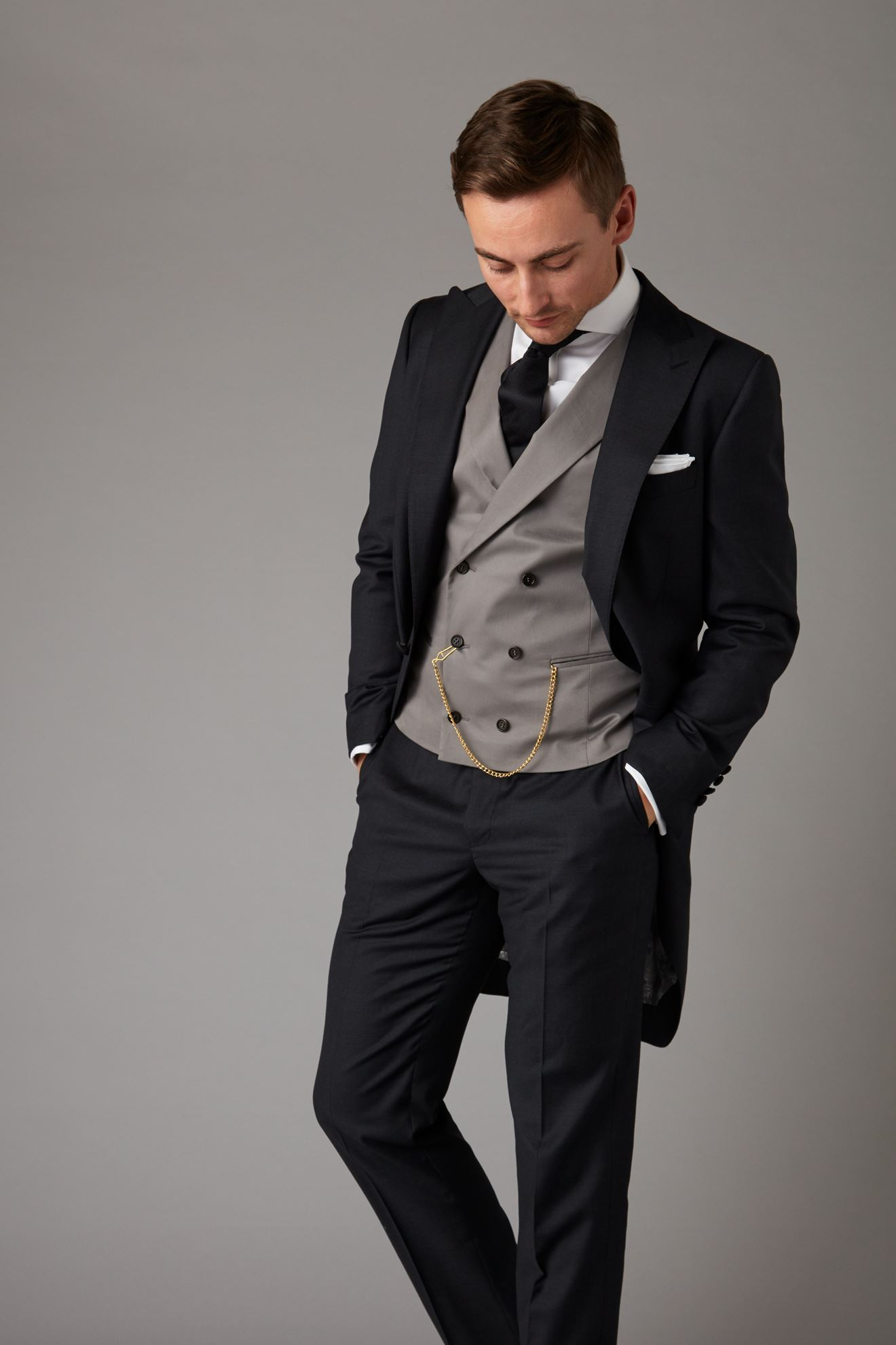 Picture of Three Piece Morning Suit