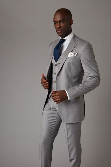Picture of Light grey three-piece suit