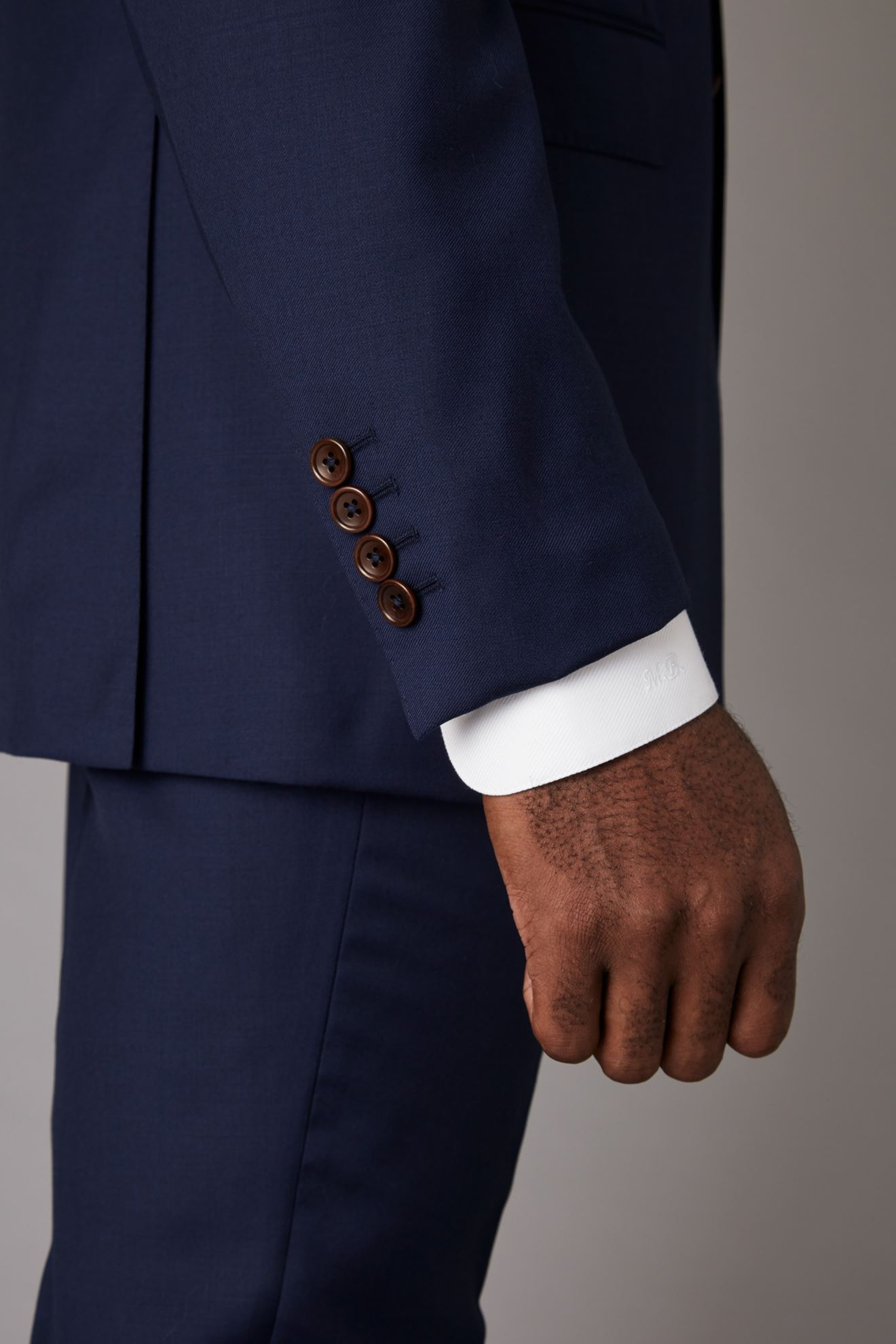 Navy Jacket Detail