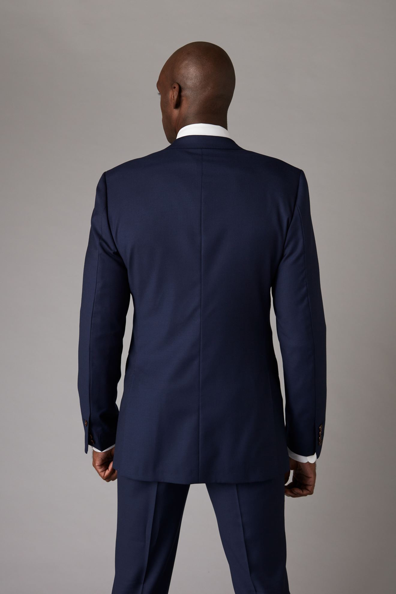 Navy Jacket Back