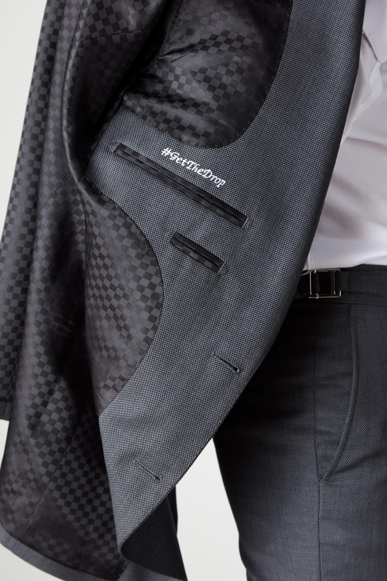 detail shot (lining, monogram etc) on jacket