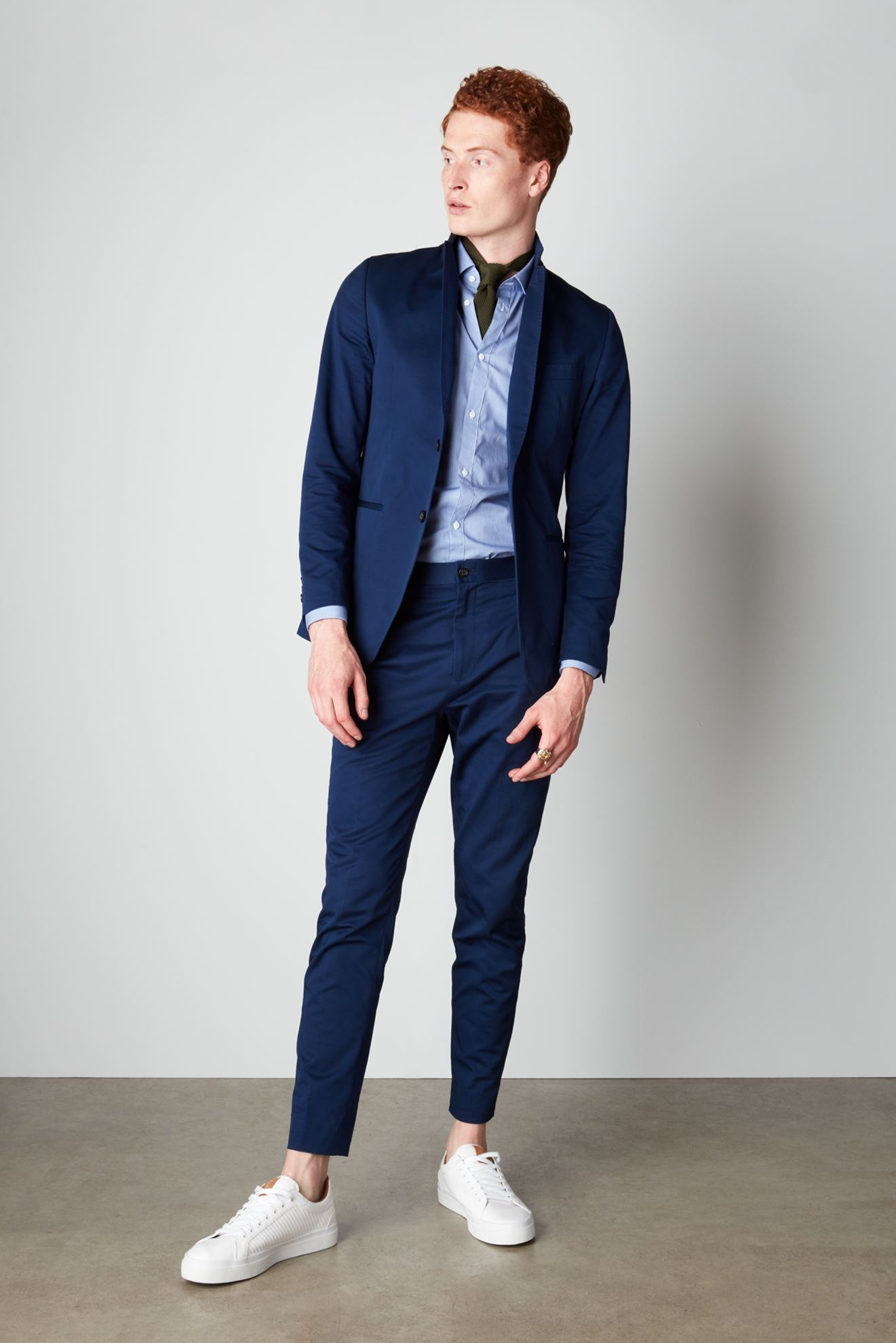 Picture of The Chino Suit - Blue