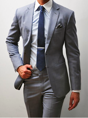 Picture of Grey Two-Piece Suit