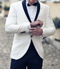 Picture of White Tuxedo with Black Trousers