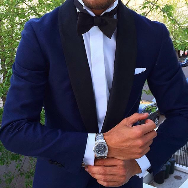 Picture of Midnight blue two-piece tuxedo